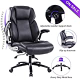 VANBOW Office Chair, Executive Computer Desk Task Swivel High Back Chair with Metal Base- Adjustable...