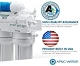 APEC Top Tier Alkaline Mineral pH+ 75 GPD 6-Stage Ultra Safe Reverse Osmosis Drinking Water Filter...