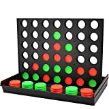 COUOMOXA 4 Connect in a Row Four in a Row Game Classic Family Game Line Up 4 Classic Board Game...