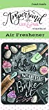 Enjoy It Ampersand by Lily & Val Life is What You Bake It Air Freshener (French Vanilla Scented)