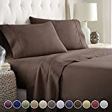 Hotel Luxury Bed Sheets Set TODAY! On Amazon Softest Bedding 1800 Series Platinum...