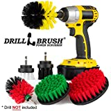 The Ultimate - Drill Brush - Cleaning Supplies - Kit - Bathroom Accessories - Shower Cleaner - Bath...