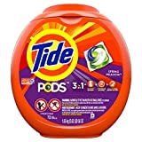 Tide PODS Laundry Detergent Liquid Pacs, Spring Meadow Scent, HE Turbo, 72 Count (Packaging May...