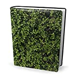 Wildtextures-Privet-Hedge Book Cover 9x11 in Composition Book Cover Washable & Reusable Jacket for...