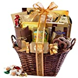 Gourmet Gift Basket of Chocolates, Cookies and Snacks Food Gift Baskets. The Perfect Gift for...