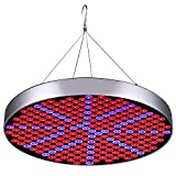 50W LED Plant Grow Lights, Shengsite UFO 250 LEDs Indoor Plants Growing Lamp Bulbs with Red Blue...