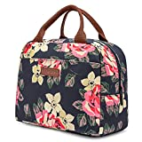 LOKASS Lunch Bag Cooler Bag Women Tote Bag Insulated Lunch Box Water-resistant Thermal Lunch Bag...