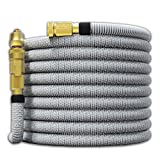 TITAN 150FT Garden Hose - All New Expandable Water Hose with Dual Latex Core 3/4' Solid Brass...