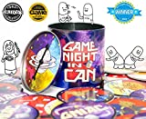 Game Night In A Can -- The Creative Party Game for All Ages