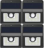 Vivii Solar Lights, Motion Sensor 30 LED Super Bright Security Lights Solar Outdoor Spotlight Flood...