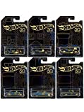 New 1:64 Hot Wheels 50th Anniversary Black & Gold Collection - Bone Shaker, Twin Mill, Rodger...