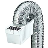 Deflecto Dryer Lint Trap Kit, Supurr-Flex Flexible Metallic Duct