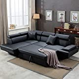 Sofa Sectional Sofa Bed Living Room Sofa Corner Sofa Set Futon Sofa Bed Sleeper Sofa Couch Sofa Faux...
