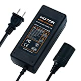 AC to DC Converter, HOTOR 8.5A 100W 110-220V to 12V Car Cigarette Lighter Socket AC DC Power Adapter...