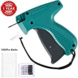 Price Tag Gun, Standard Attacher Tagging Gun for Clothing Clothes Labeler with 6 Needles & 1000pcs...