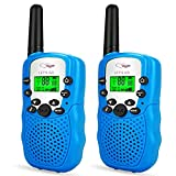 TOP Gift Toys for 3-12 Year Old Kids, Handheld Walkie Talkies for Kids 2 Mile Range Hallowee Gifts...