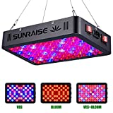 1000W LED Grow Light Full Spectrum for Indoor Plants Veg and Flower SUNRAISE LED Grow Lamp with...