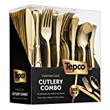 160 Plastic Silverware Set - Plastic Cutlery Set - Disposable Flatware - 80 Plastic Forks, 40...
