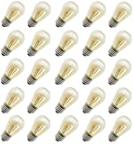11 Watt Outdoor Light Bulbs, Rolay S14 Warm Replacement Bulbs for Outdoor Patio String Lights with...