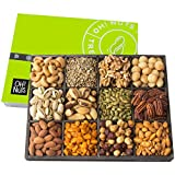 Oh! Nuts 12 Variety Mixed Nut Gift Basket, Holiday Freshly Roasted Healthy Gourmet Snack Gifts|...