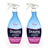 Downy Wrinkle Release Spray Plus, Static Remover, Odor Eliminator, Steamer for Clothes Accessory,...