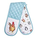 Price & Kensington Back to Front Cotton Double Oven Glove, Multi, 16 x 16 x 8.8 cm
