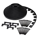 Dimex EasyFlex Plastic No-Dig Landscape Edging Kit, 100-Feet (3000-100C)