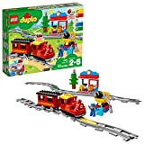 LEGO DUPLO Steam Train 10874 Remote-Control Building Blocks Set  Helps Toddlers Learn, Great...