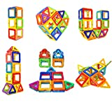 Soyee Magnetic Blocks STEM Educational Toys for 3+ Year Old Boys and Girls Creative Construction Fun...