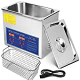 Mophorn Ultrasonic Cleaner 3L Total 220W Commercial Ultrasonic Cleaner Professional Stainless Steel...