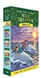 Magic Tree House Boxed Set, Books 9-12: Dolphins at Daybreak, Ghost Town at Sundown, Lions at...