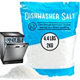 4.4 LB Dishwasher Salt/Water Softener Salt - Compatible with Bosch, Miele, Whirlpool, Thermador and...
