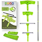 Modern Domus Neverending Reach Squeegee Window Cleaner Kit! Shower Squeegee, High Window Cleaning...