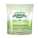 Charlie's Soap - Fragrance Free Powder Laundry Detergent - 300 Loads (8 lbs, 1 Pack)