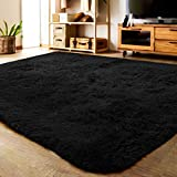 LOCHAS Ultra Soft Indoor Modern Area Rugs Fluffy Living Room Carpets Suitable for Children Bedroom...