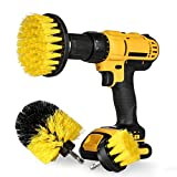 Drill Brush Attachment Set - Power Scrubber Brush Cleaning Kit - All Purpose Drill Brush for...