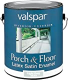 Valspar 1533 Porch and Floor Latex Satin Enamel, 1-Gallon, Light Gray