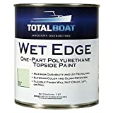 TotalBoat Wet Edge Topside Paint (Aqua Mist, Quart)