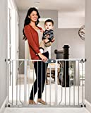 Regalo Easy Step 49-Inch Extra Wide Baby Gate, Includes 4-Inch and 12-Inch Extension Kit, 4 Pack of...