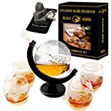 Whiskey Decanter - Best Ship Whiskey Decanter Set (30oz) with nice Gift Box - Ideal Christmas gifts...