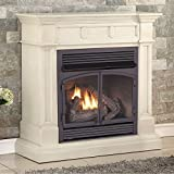 Duluth Forge Dual Fuel Vent Free Fireplace-32,000 BTU, Remote Control, Finish Gas Fireplace Antique...