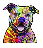 Enjoy It Dean Russo Pit Bull Car Sticker, Outdoor Rated Vinyl Sticker Decal for Windows, Bumpers,...