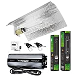 VIVOSUN Hydroponic 600 Watt HPS MH Grow Light Wing Reflector Kit - Easy to Set up, High Stability &...