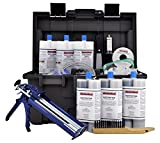 PRO Foundation Crack Injection Toolkit (30 ft) - The Professional Concrete Crack Repair Kit