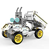 UBTECH JIMU Robot Builderbots Series: Overdrive Kit / App-Enabled Building and Coding STEM Learning...