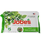 Jobe's Tree & Shrub Fertilizer Spikes, 15 Spikes