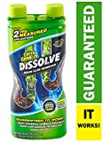 DISSOLVE Liquid Hair & Grease Clog Remover | Drain Opener | Drain cleaner | Toilet Clog Remover, 31...
