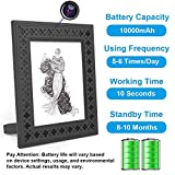 Hidden Camera WiFi Photo Frame 720P HD Home Security Spy Camera Night Vision and Motion Detection...