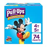 Pull-Ups Learning Designs Potty Training Pants for Boys, 4T-5T (38-50 lb.), 74 Ct. (Packaging May...