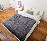 Cooling Weighted Blanket - Perfect for Summer - | Chilled Bamboo- (60'x80', 20 lb) | Eco-friendly...